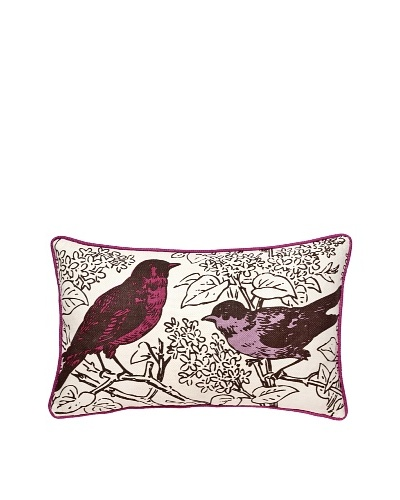Thomas Paul Perch Pillow, Violet, 12 x 20