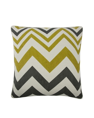 Thomas Paul Zig-Zag Feather Pillow