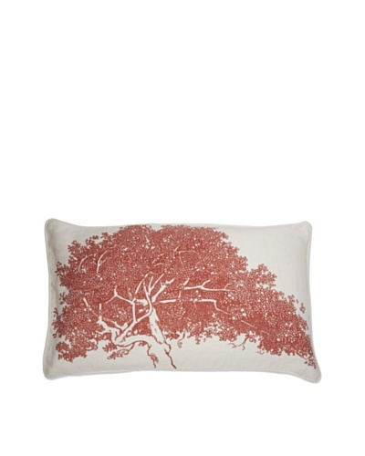 Thomas Paul Maple Arboretum Pillow [Paprika]