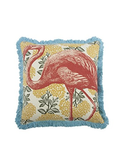 Thomas Paul Flamingo Pillow, Coral