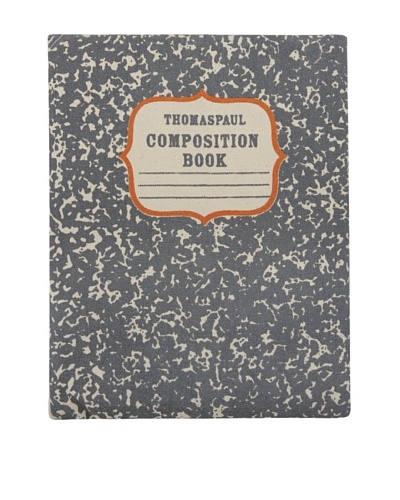 Thomas Paul Composition Book iPad Envelope, Charcoal