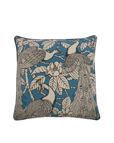 Thomas Paul Turquoise Prance Pillow, 22 x 22