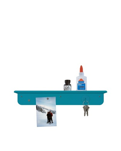 Three by Three Seattle Set of 2 Magnet Board & Shelf Organizers, Sky Blue