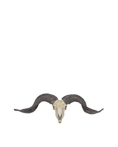 Three Hands Resin Animal Skull Wall Decoration