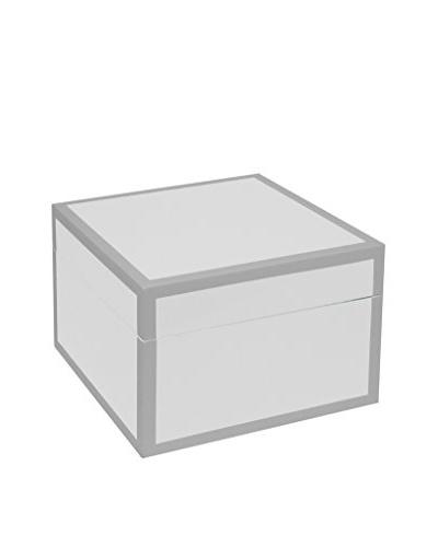 Three Hands Wood Box, White