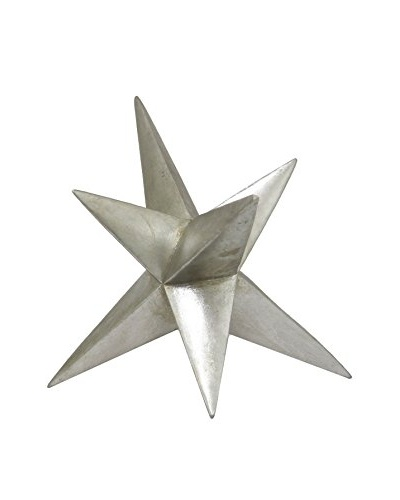 Three Hands Star Table Decoration, Silver