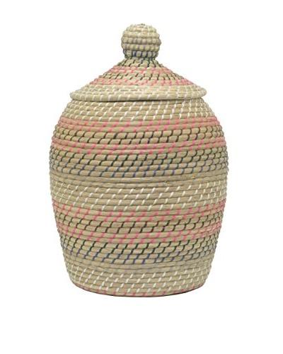 Three Hands Cobra Basket, Sea Grass