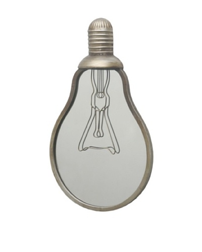 Three Hands Light Bulb Mirror