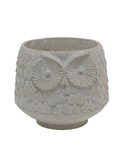 Three Hands Wide Owl Planter