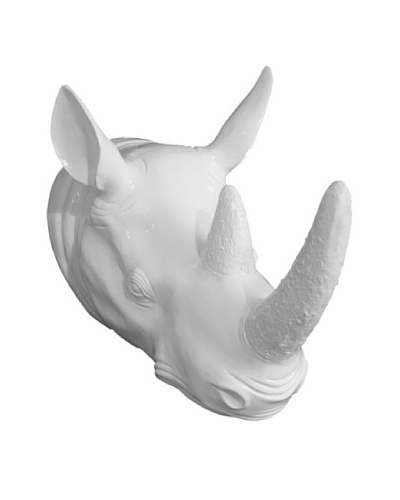 Three Hands Rhinoceros Head Wall Décor
