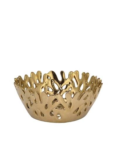 Three Hands Pierced Ceramic Bowl