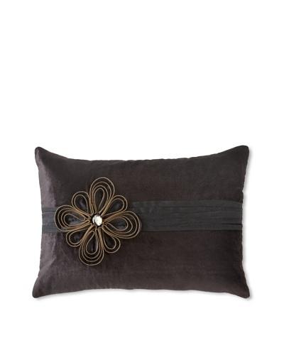 """Cloud9 Deco Pillow, Black, 14"""" x 20"""""""