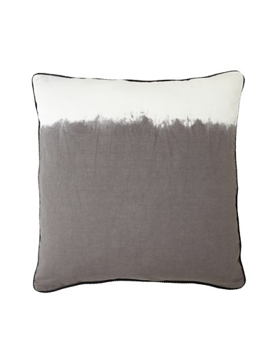 Villa Home Tribal Ashbury Pillow, Grey/White, 24 x 24