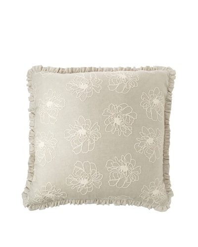 Chateau Blanc Bedding Neutral Euro Sham