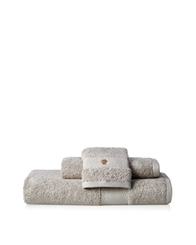 Tommy Bahama Set of 3 Solid Towels, Gray