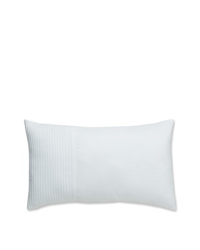 "Tommy Bahama Breezeway Palm Breakfast Pillow, White, 15"" x ""24"