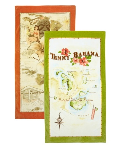 Tommy Bahama Islands Beach Towel Set