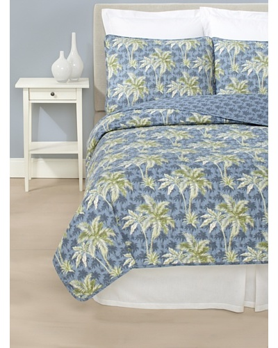 Tommy Bahama Palm Breeze Quilt Set