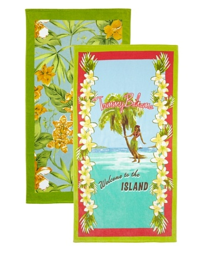 Tommy Bahama Paradise Beach Towel Set