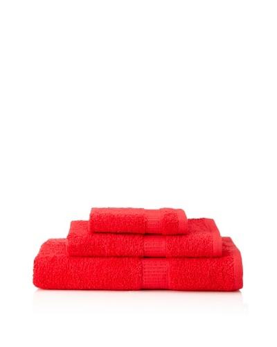 Tommy Hilfiger 3-Piece Towel Set, Cardinal Red