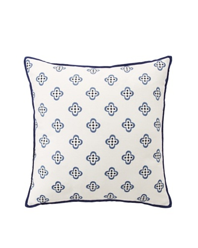 Tommy Hilfiger Spectator Plaid Collection Pillow, Khaki Fleur