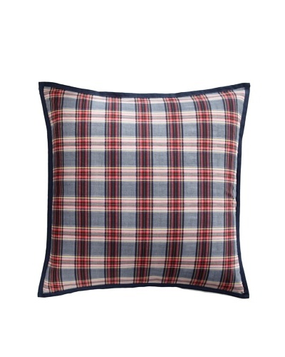Tommy Hilfiger Rustic Floral Collection Euro Sham, Smoke