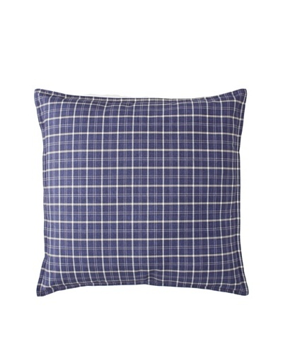 Tommy Hilfiger Vintage Plaid Decorative Pillow, Navy, 18 x 18