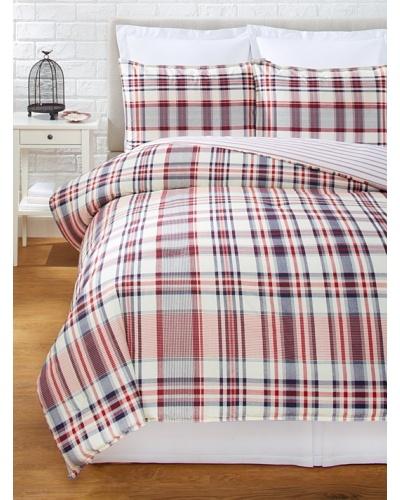 Tommy Hilfiger Vintage Plaid Comforter Set [Navy]