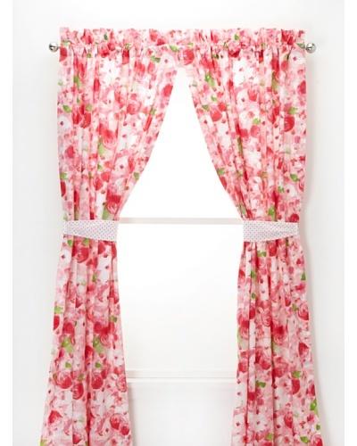 Tommy Hilfiger Rose Cottage Pole Top Drapes