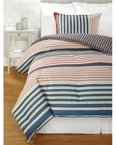 Tommy Hilfiger Reading Room Stripe Collection Comforter Set