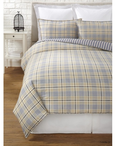 Tommy Hilfiger Spectator Plaid Collection Duvet Set