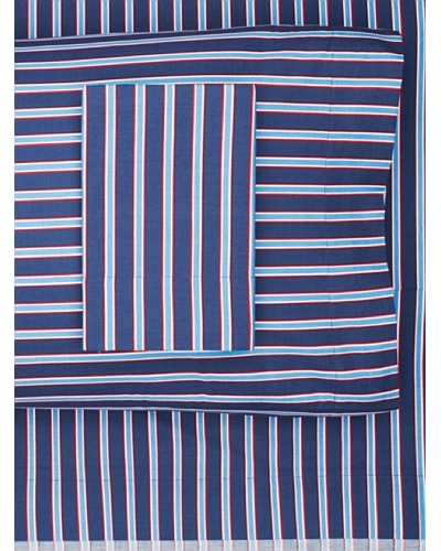 Tommy Hilfiger Christopher Sheet Set, Queen, Blue StripeAs You See