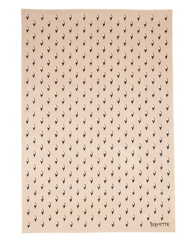 Tony Duquette Royal Ermine Rug, Cream, 6' x 9'As You See