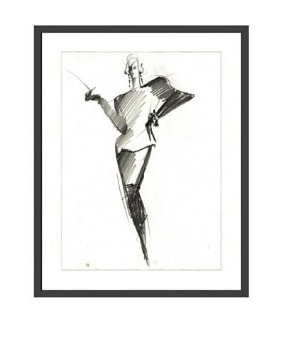 Tony Viramontes Claude Montana Haute Couture, 1985