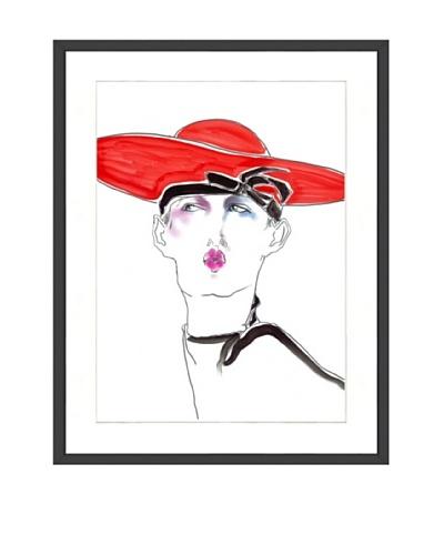 Tony Viramontes Portrait of Leslie Winer, 1983