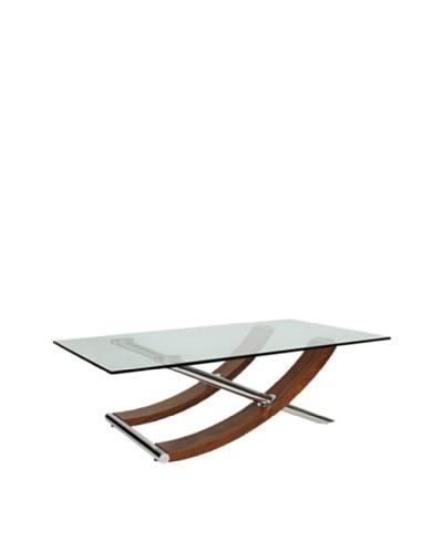 Furniture Contempo Robin Coffee Table, Walnut