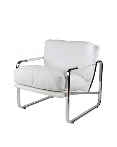 Furniture Contempo Magi Chair, White