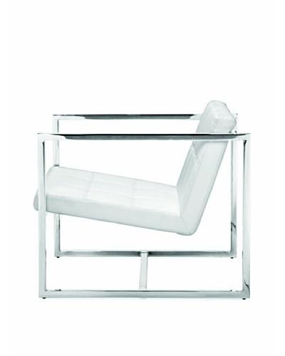 Furniture Contempo Lisa Chair, White