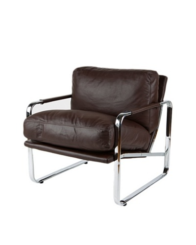 Furniture Contempo Magi Chair, Chocolate