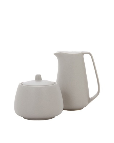 Torre & Tagus Mesa Creamer and Sugar Bowl Set