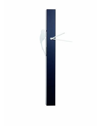 Torre & Tagus Woodpecker Motion Bird Clock, Black