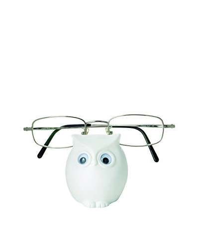 Torre & Tagus White Owl Eyeglass Holder