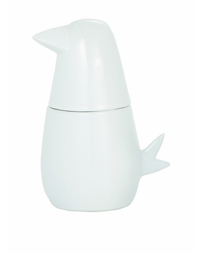 Torre & Tagus Mod Bird Canister, White, LargeAs You See