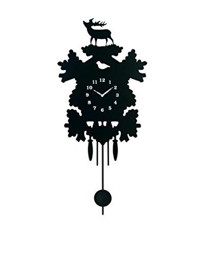 Torre & Tagus Stag Silhouette Pendulum Clock