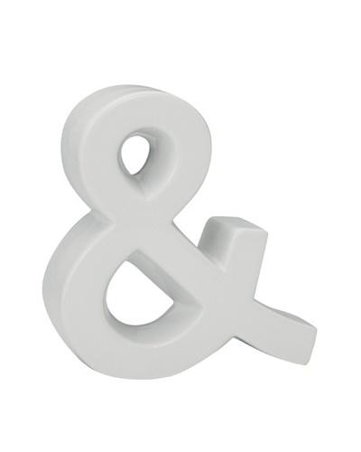 Torre & Tagus Ceramic & Sculpture, White
