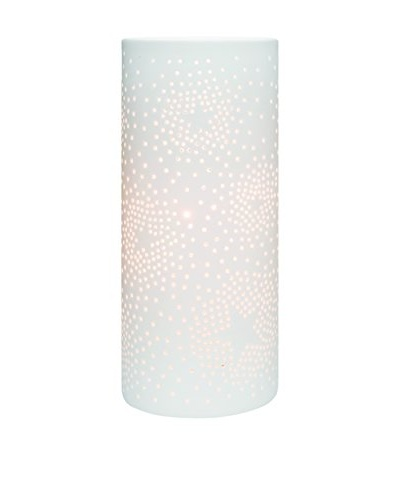 Torre & Tagus Star Porcelain Cut-Out Table Lamp