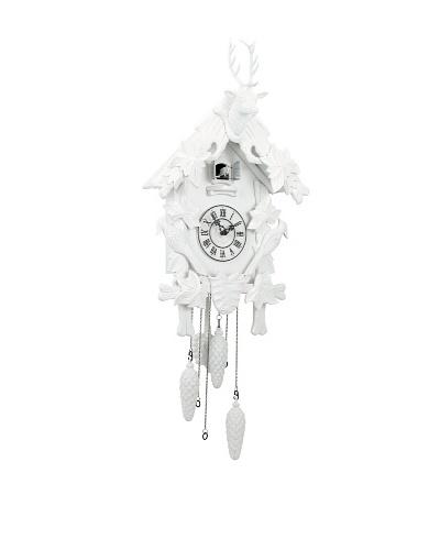 Torre & Tagus Village Cuckoo Clock, White