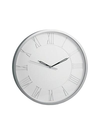 Torre & Tagus Burton Station Clock, Silver