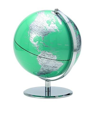 Torre & Tagus Teal Latitude World Globe