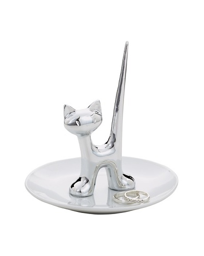 Torre & Tagus Cat Ring Dish